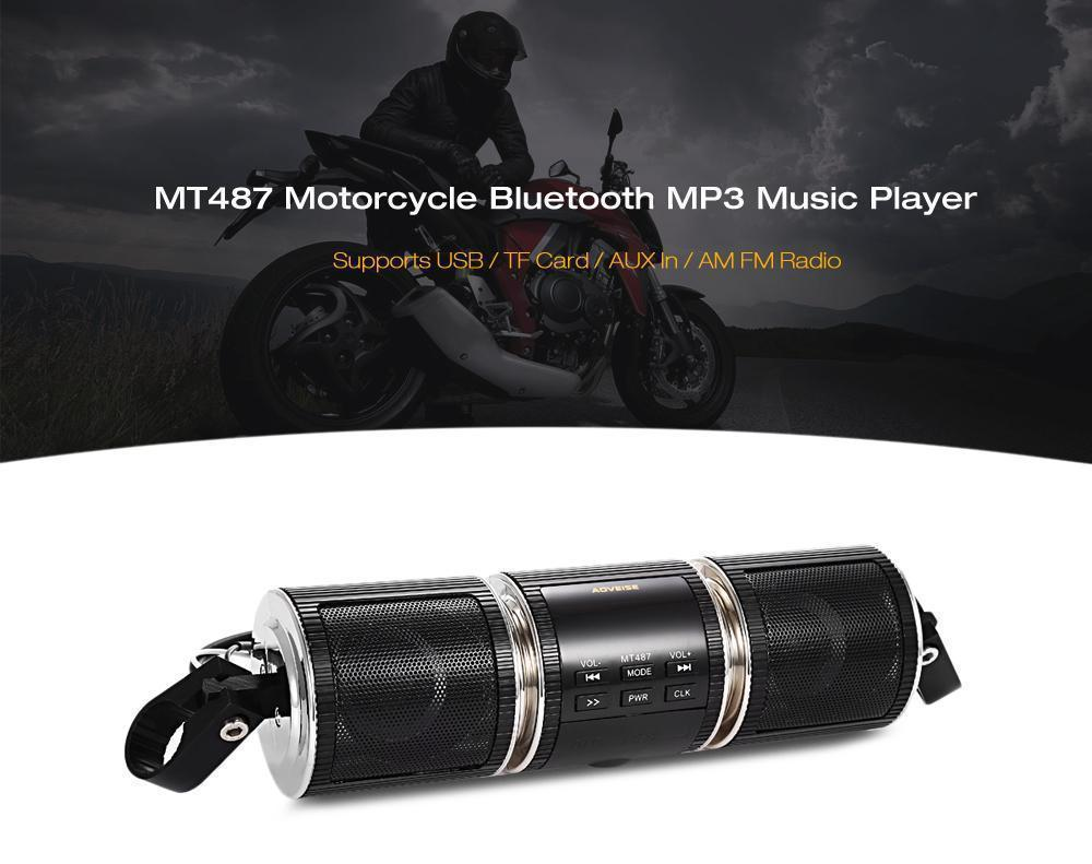 Motorcycle Waterproof MP3 Music Player