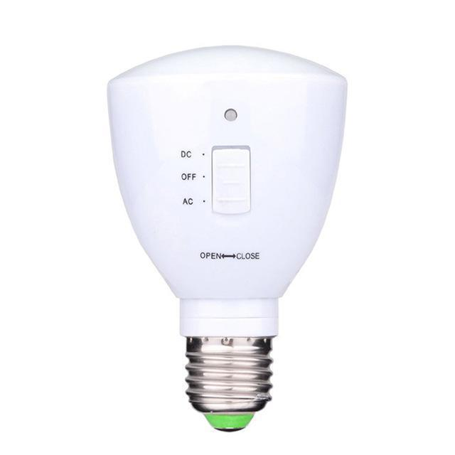 Multifunction Retractable Emergency Light Bulb