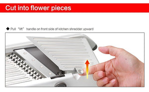 Multipurpose Mandoline Slicer