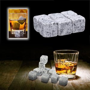 Natural Whiskey Stones Sipping Ice Cubes