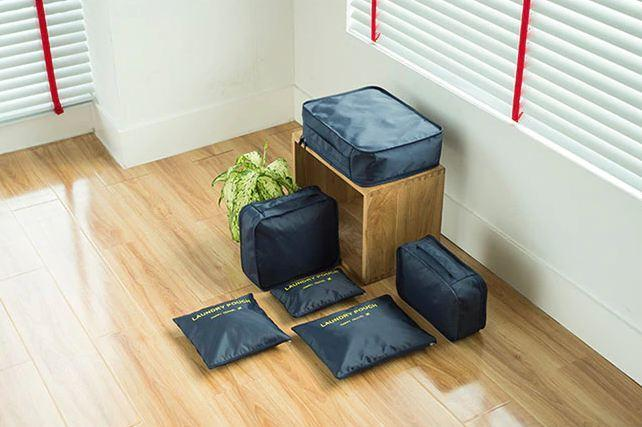 New 2019 6PCS Nylon Waterproof Travel Bag Organizer