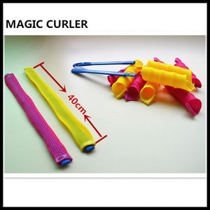 NO HEAT MAGIC SAFETY HAIR CURLERS ROLLERS