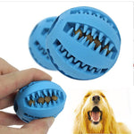 Pet Teeth Cleaning Rubber Ball