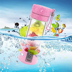 Portable Fruit Juice Bottle