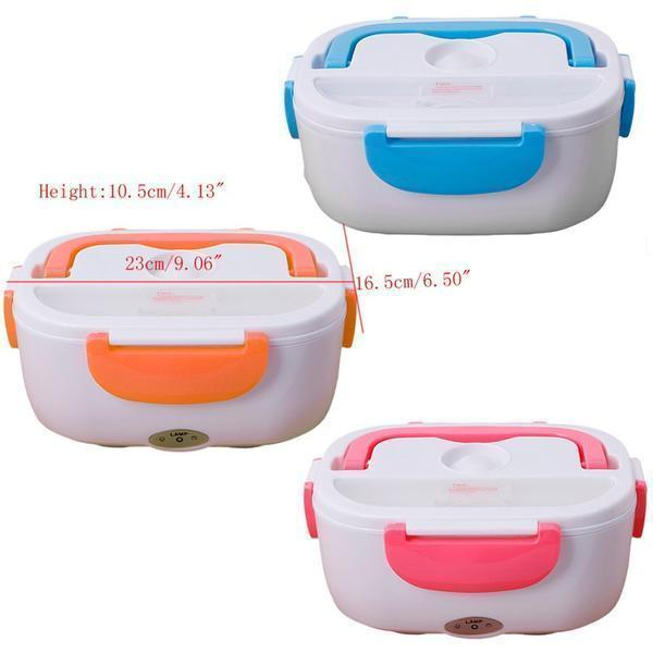 Portable Heatable Lunch Box