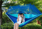Portable Outdoor Mosquito-Proof Hammock