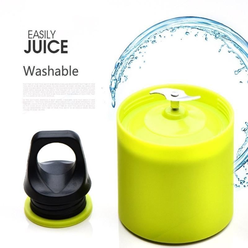Portable USB Electric Blender Bottle