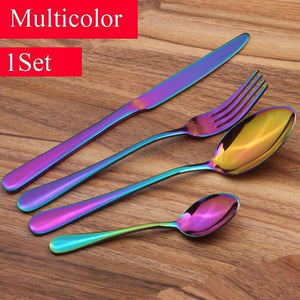 Prismware Cutlery/Silverware Set (4 Pieces)