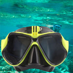 Professional Diving Mask With Go Pro Attachment