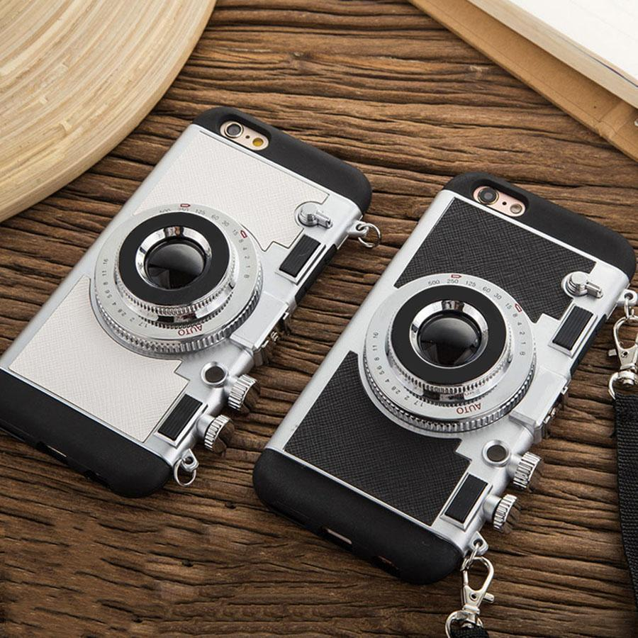 Retro Camera IPhone Colorful Cases