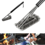 RUGGED GRILL CLEANING BRUSH