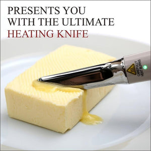 SELF-HEATING BUTTER KNIFE