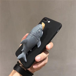 Shark Squishy IPhone Case