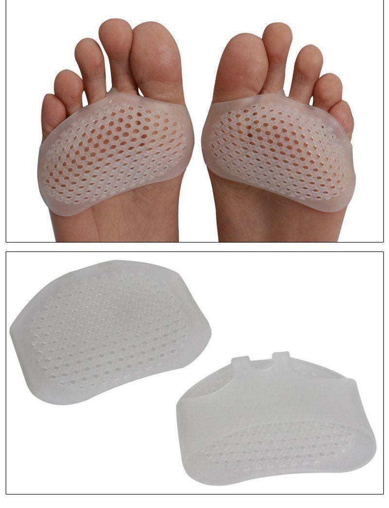 Silicone Gel Insoles Forefoot Pad