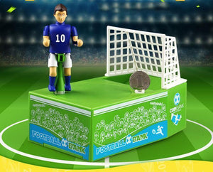 Soccer Kicking Coin Bank