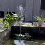 Solar Powered Floating Fountain Kits