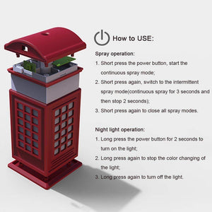 Telephone Booth Air Humidifier
