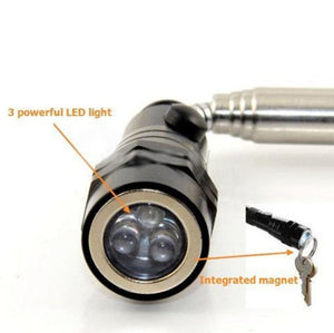 Telescopic Magnetic Torchlight