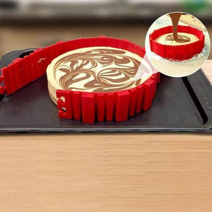 The Baking Mold Snake ( 4 Piece Set )