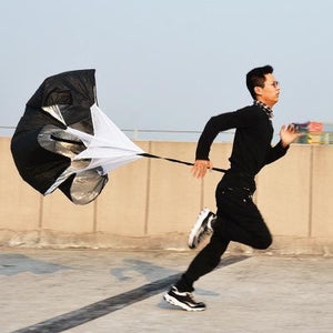 Training Parachute Running