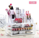 Transparent Makeup Organizer