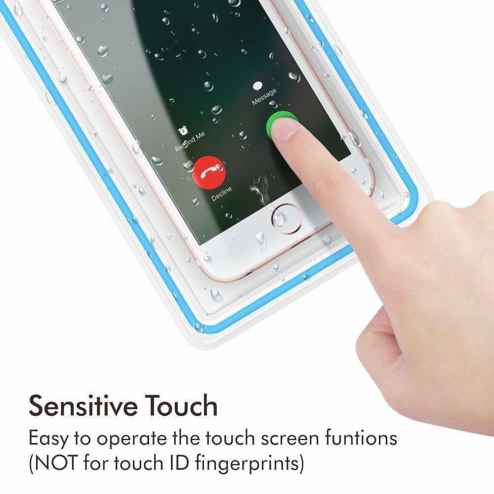 Transparent Waterproof Cellphone Case Cover