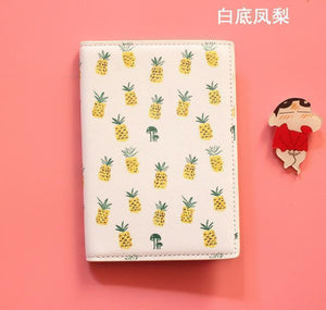 Travel Fruit Pattern Passport Cover