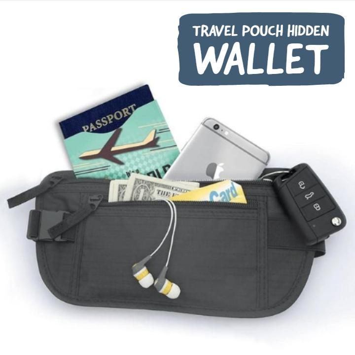 Travel Pouch Hidden Wallet
