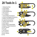 True Utility 20 Tools In 1 Utility Pocket Tool