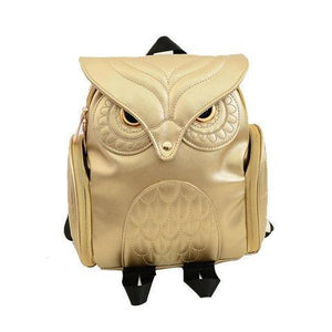 Vintage Gothic Style Owl Backpack