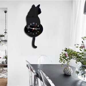 Wagging Tail Wall Clock