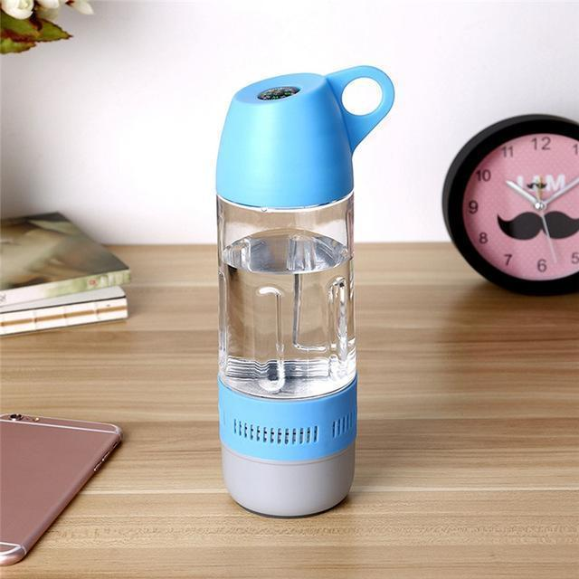Water Bottle Speaker With Compass