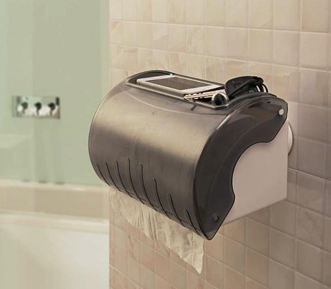 Waterproof Suction Cup Tissue Holder