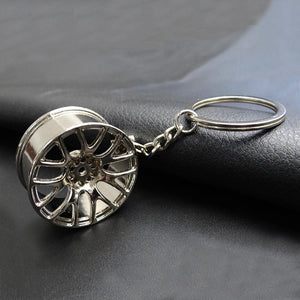 Wheel Alloy Keyring