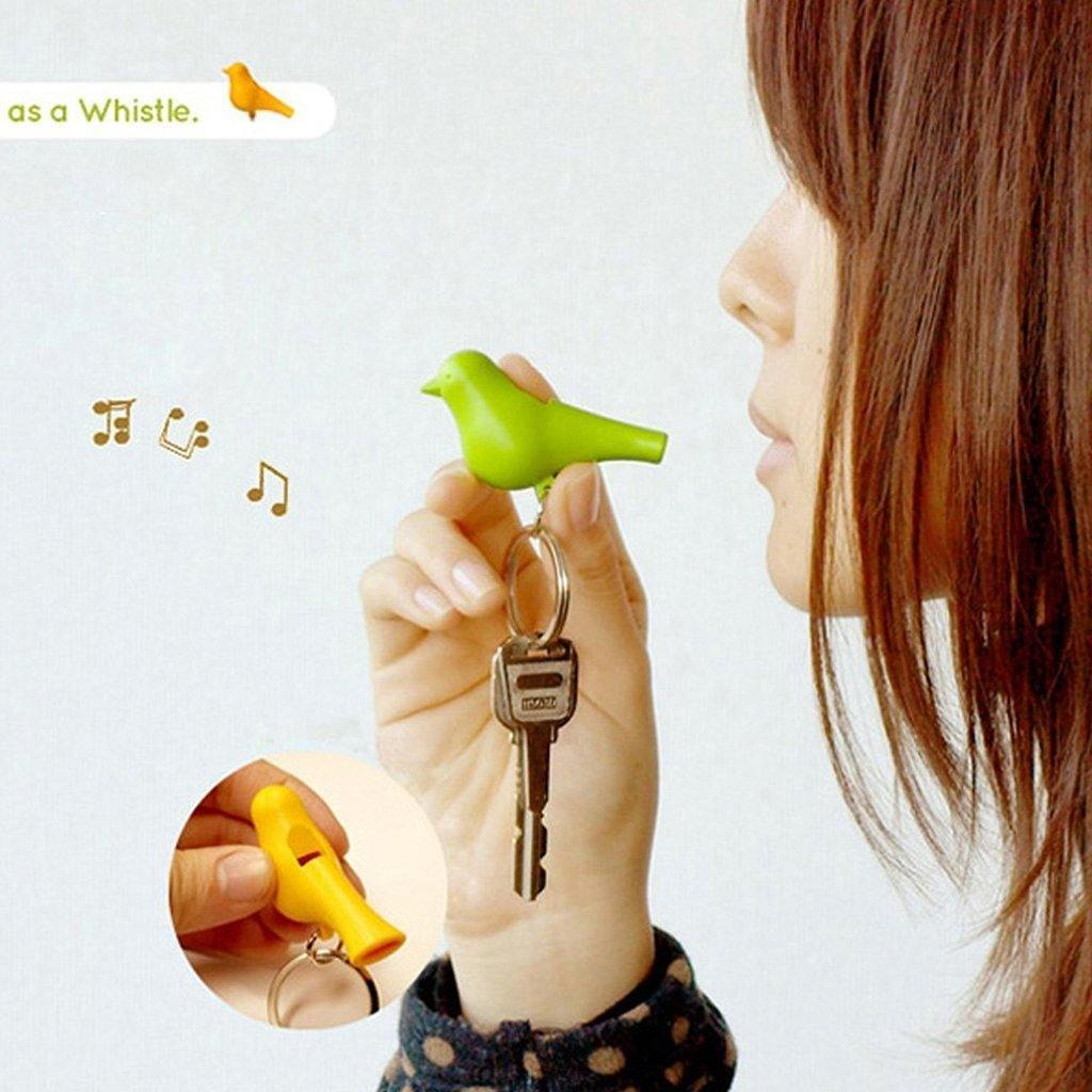 Whistle Keyrings Birdhouse