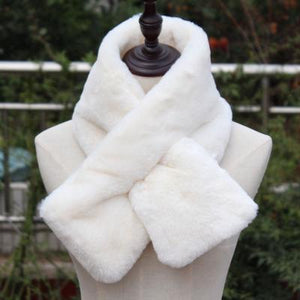 Winter Cross Scarf