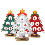 Wooden Ornament Christmas Tree