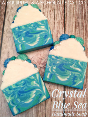 CRYSTAL BLUE SEA (Handmade Soap)
