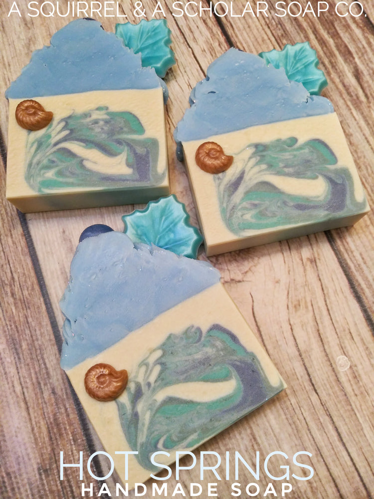 Load image into Gallery viewer, HOT SPRINGS (Handmade Soap)