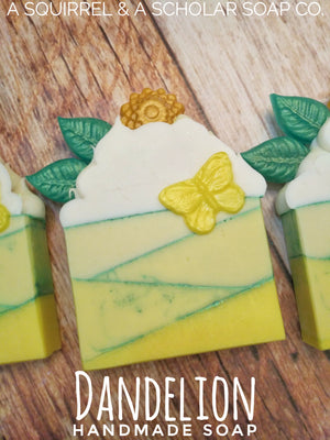 Load image into Gallery viewer, DANDELION (Handmade Soap)