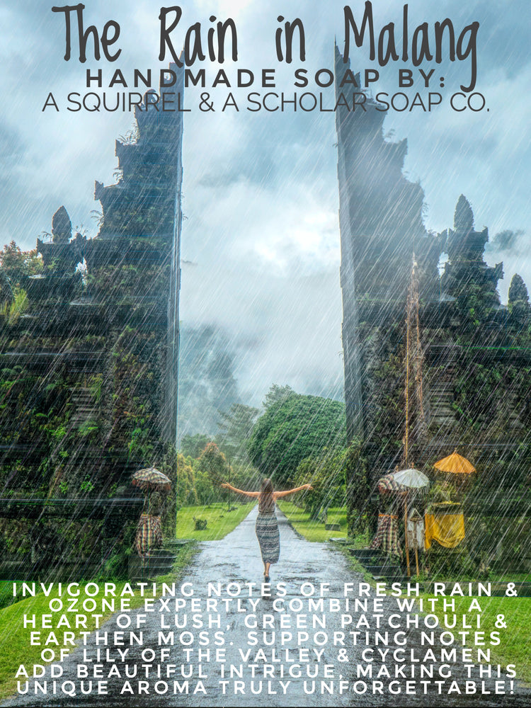 Load image into Gallery viewer, THE RAIN IN MALANG (Handmade Soap)