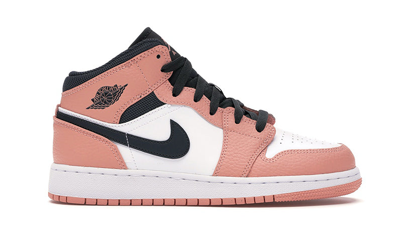 Air Jordan 1 Mid Pink Quartz