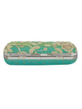 Keep your stuff handy while you are on the move with this green coloured box clutch from the house of TARUSA. Made from silk fabric, this box clutch for women will be your companion for years to come. Unique and voguish, this box clutch will go well with your casual outfits.