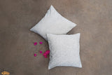 A traditionally hand woven 100% organic cotton pillow cover from Kutch, Gujarat.   Redefine the simplicity of your living space or bedroom by adding amazing highest-quality organic cotton throw pillows, which is handwoven by the artisans of Kutch.