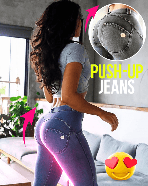 Push-up Jeans - hypie.nl