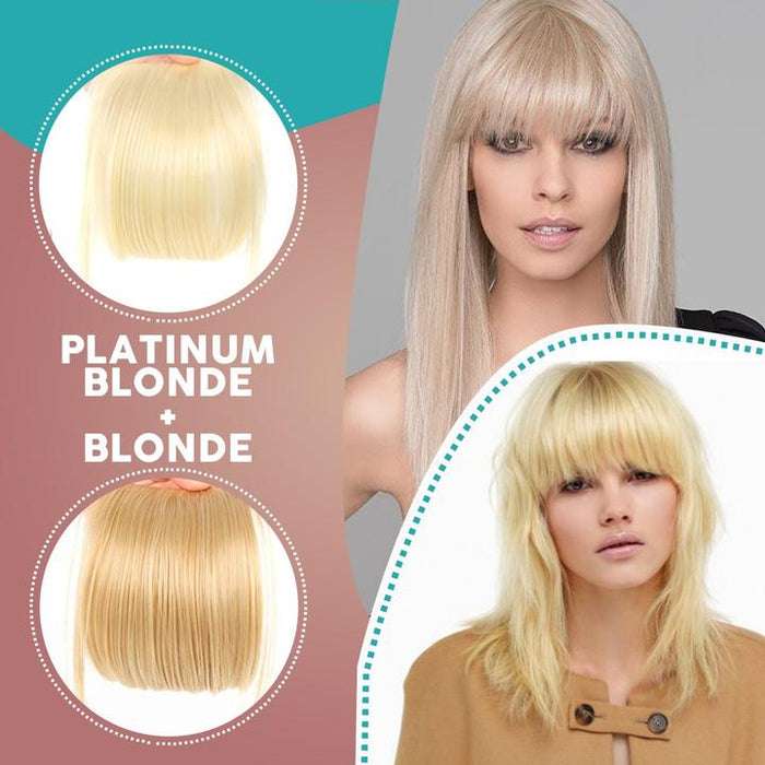 3D Clip-In Bangs Hair Extensions - hypie.nl