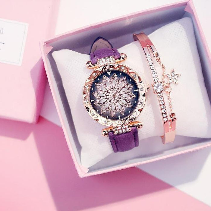 Lullaby Dames Horloge + Armband - hypie.nl
