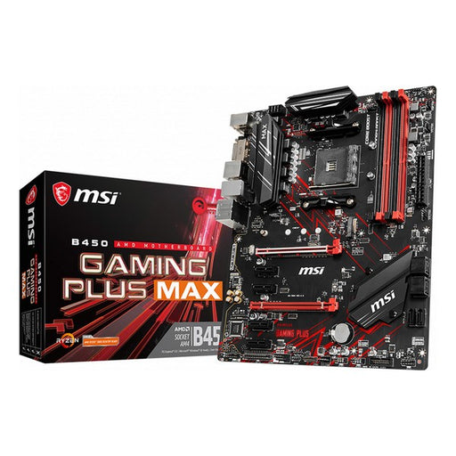 Gaming Moederbord MSI B450+ Max ATX DDR4 AM4
