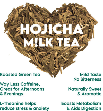 How do we love Hojicha? Let us count the ways...