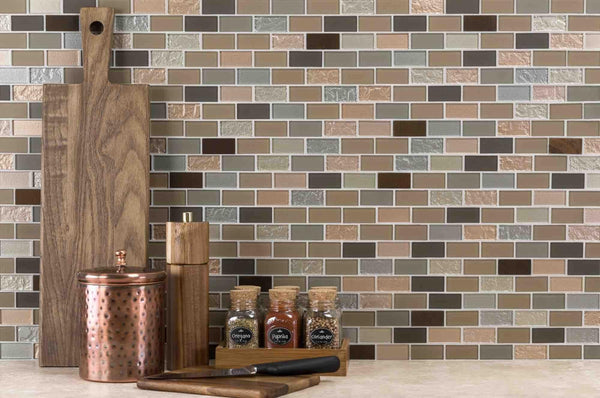 Peel & Stick Backsplashes: Which Type to Choose?-Mineral Tiles